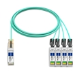 Picture for category 40G QSFP+ to 4x SFP+ AOC