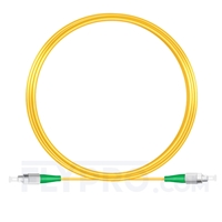 Bild von 10M(33ft)1550nm FC APC Simplex Slow Axis Single Mode PVC-3.0mm (OFNR) 3.0mm Polarization Maintaining Fiber Optic Patch Cable