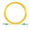 Bild von 20M(66ft)1550nm FC APC Simplex Slow Axis Single Mode PVC-3.0mm (OFNR) 3.0mm Polarization Maintaining Fiber Optic Patch Cable
