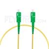 Bild von 1M(3ft)1550nm SC APC Simplex Slow Axis Single Mode PVC-3.0mm (OFNR) 3.0mm Polarization Maintaining Fiber Optic Patch Cable
