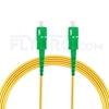 Bild von 15M(49ft)1550nm SC APC Simplex Slow Axis Single Mode PVC-3.0mm (OFNR) 3.0mm Polarization Maintaining Fiber Optic Patch Cable