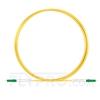 Bild von 1M(3ft)1550nm LC APC Simplex Slow Axis Single Mode PVC-3.0mm (OFNR) 3.0mm Polarization Maintaining Fiber Optic Patch Cable