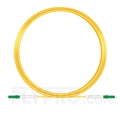 Picture of 10M(33ft)1550nm LC APC Simplex Slow Axis Single Mode PVC-3.0mm (OFNR) 3.0mm Polarization Maintaining Fiber Optic Patch Cable