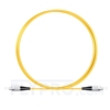 Picture of 1M(3ft)1550nm FC UPC Simplex Slow Axis Single Mode PVC-3.0mm (OFNR) 3.0mm Polarization Maintaining Fiber Optic Patch Cable