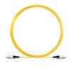 Picture of 5M(16ft)1550nm FC UPC Simplex Slow Axis Single Mode PVC-3.0mm (OFNR) 3.0mm Polarization Maintaining Fiber Optic Patch Cable