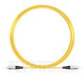 Image de 10M(33ft)1550nm FC UPC Simplex Slow Axis Single Mode PVC-3.0mm (OFNR) 3.0mm Polarization Maintaining Fiber Optic Patch Cable