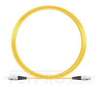 Picture of 10M(33ft)1550nm FC UPC Simplex Slow Axis Single Mode PVC-3.0mm (OFNR) 3.0mm Polarization Maintaining Fiber Optic Patch Cable