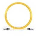 Picture of 15M(49ft)1550nm FC UPC Simplex Slow Axis Single Mode PVC-3.0mm (OFNR) 3.0mm Polarization Maintaining Fiber Optic Patch Cable