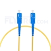 Picture of 1M(3ft)1550nm SC UPC Simplex Slow Axis Single Mode PVC-3.0mm (OFNR) 3.0mm Polarization Maintaining Fiber Optic Patch Cable
