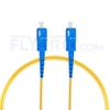 Picture of 2M(7ft))1550nm SC UPC Simplex Slow Axis Single Mode PVC-3.0mm (OFNR) 3.0mm Polarization Maintaining Fiber Optic Patch Cable