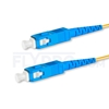 Picture of 15M(49ft)1550nm SC UPC Simplex Slow Axis Single Mode PVC-3.0mm (OFNR) 3.0mm Polarization Maintaining Fiber Optic Patch Cable