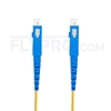 Picture of 20M(66ft)1550nm SC UPC Simplex Slow Axis Single Mode PVC-3.0mm (OFNR) 3.0mm Polarization Maintaining Fiber Optic Patch Cable