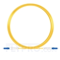 Picture of 10M(33ft)1550nm LC UPC Simplex Slow Axis Single Mode PVC-3.0mm (OFNR) 3.0mm Polarization Maintaining Fiber Optic Patch Cable
