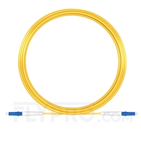 Bild von 15M(49ft)1550nm LC UPC Simplex Slow Axis Single Mode PVC-3.0mm (OFNR) 3.0mm Polarization Maintaining Fiber Optic Patch Cable