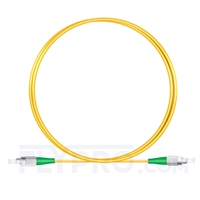 Bild von 1M(3ft)1310nm FC APC Simplex Slow Axis Single Mode PVC-3.0mm (OFNR) 3.0mm Polarization Maintaining Fiber Optic Patch Cable