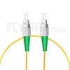 Bild von 1M(3ft)1310nm FC APC Simplex Slow Axis Single Mode PVC-3.0mm (OFNR) 3.0mm Polarization Maintaining Fiber Optic Patch Cable