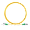 Picture of 5M(16ft)1310nm FC APC Simplex Slow Axis Single Mode PVC-3.0mm (OFNR) 3.0mm Polarization Maintaining Fiber Optic Patch Cable