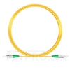Picture of 10M(33ft)1310nm FC APC Simplex Slow Axis Single Mode PVC-3.0mm (OFNR) 3.0mm Polarization Maintaining Fiber Optic Patch Cable