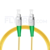Bild von 15M(49ft)1310nm FC APC Simplex Slow Axis Single Mode PVC-3.0mm (OFNR) 3.0mm Polarization Maintaining Fiber Optic Patch Cable