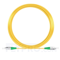 Bild von 20M(66ft)1310nm FC APC Simplex Slow Axis Single Mode PVC-3.0mm (OFNR) 3.0mm Polarization Maintaining Fiber Optic Patch Cable