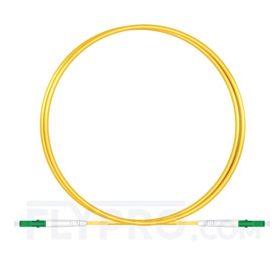 Bild von 1M(3ft)1310nm LC APC Simplex Slow Axis Single Mode PVC-3.0mm (OFNR) 3.0mm Polarization Maintaining Fiber Optic Patch Cable