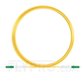 Picture of 5M(16ft)1310nm LC APC Simplex Slow Axis Single Mode PVC-3.0mm (OFNR) 3.0mm Polarization Maintaining Fiber Optic Patch Cable