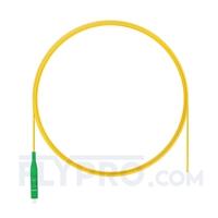 Picture of 2m (7ft) LC APC Simplex OS2 Single Mode PVC (OFNR) 0.9mm Fiber Optic Pigtail