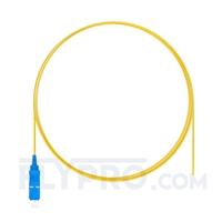 Picture of 1m (3ft) SC UPC Simplex OS2 Single Mode PVC (OFNR) 0.9mm Fiber Optic Pigtail