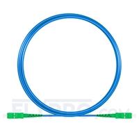 Picture of 5m (16ft) SC APC to SC APC Simplex OS2 Single Mode Armored PVC (OFNR) 3.0mm Fiber Optic Patch Cable