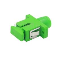 Bild von FC/APC auf SC/APC Hybrid Simplex Singlemode LWL-Adapter aus Kunststoff, Buchse auf Buchse