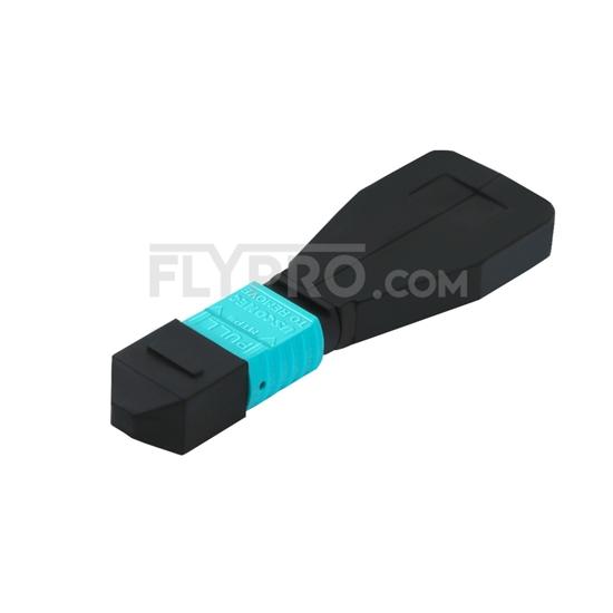 Image de Module Loopback à Fibre Optique Multimode 24-Fibres MTP/MPO Femelle Type 1 OM4 50/125