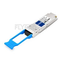 Picture of Alcatel-Lucent QSFP-40G-ER Compatible 40GBASE-QSFP-40G-ER QSFP+ 1310nm 40km LC DOM Transceiver Module
