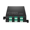 Picture of MTP®-12 to 6x LC Duplex, Type A, 12 Fibers OM4 Multimode FHD MTP® Cassette
