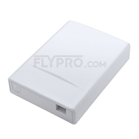 Picture of GPMB-D 2-Port Fiber Optic Wall Plate Outlet, Unloaded