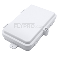 صورة 4 Ports FTB-104C Wall Mounted Fiber Terminal Box Without Pigtails and Adapters