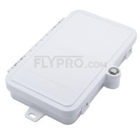 صورة 4 Ports FTB-112 Wall Mounted Fiber Terminal Box Without Pigtails and Adapters