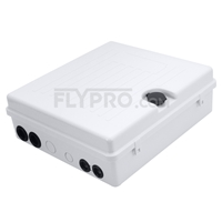 صورة GFL-S-24D 1x24 Fiber Optical Splitter Outdoor Terminal Box As Distribution Box Without Pigtails and Adapters