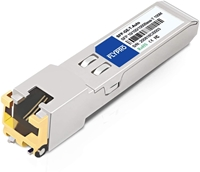 Picture of Extreme Networks MGBIC-100BT Compatible 100/1000BASE-T SFP to RJ45 Copper 100m Transceiver Module